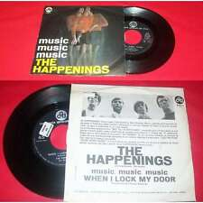 THE HAPPENINGS - Music Music Music Rare Italian PS 7' Garage Beat 68