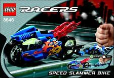 LEGO 8646 - POWER RACERS - Speed Slammer Bike - 2005 - NO BOX