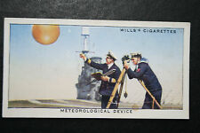 HMS Courageous    Meteorological Kit   Royal Navy Carrier # 1930's Vintage Card