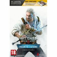 The witcher 3 wild hunt hearts of stone limited edition avec gwent cartes pc game