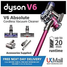 Dyson V6 Absolute Cordless Vacuum Cleaner, Brand NEW Sealed