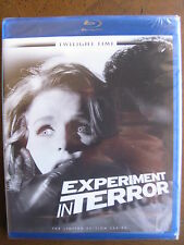 EXPERIMENT IN TERROR (1962) (Blu-Ray) TWILIGHT TIME: GLENN FORD,LEE REMICK: NEW!