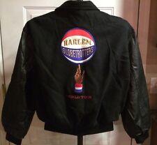Harlem Globetrotters Vintage Snap Letterman Jacket USA Embroidered World Tour
