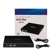 Unidad externa portátil de USB 2.0 DVD-ROM, CD-ROM, grabadora de CD, Combo CD-RW