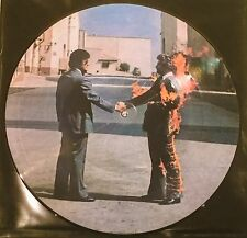 BLACKBAG SEALED CBS PINK FLOYD ICONIC PICTURE DISC WISH YOU WERE HERE + POSTCARD