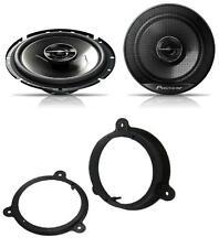 Dacia Dokker 2012 onwards Pioneer 17cm Front Door Speaker Upgrade Kit 240W