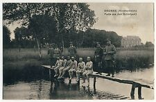 Sisonne NUDE SOLDIERS AT LAKE / NACKTE SOLDATEN AM SEE * Vintage WW I PC Gay Int