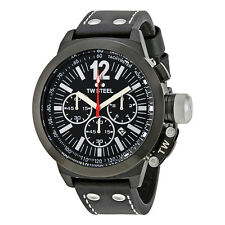 TW Steel Canteen Chronograph Black Dial Mens Watch CE1034R