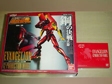 Bandai Soul of Chogokin GX-15 Evangelion EVA 02 Production Crystal Gift Japan