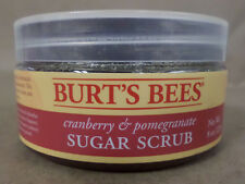 Burts Bees Cranberry and Pomegranate Sugar Scrub Exfoliator 8 oz New and Sealed