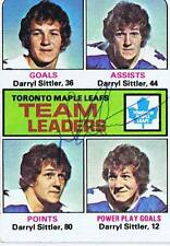 Darryl Sittler 1975 Topps Autograph #328 Maple Leafs