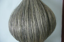 New Light Grey Horse Tail Hair Extension 90cm 1/2 Lb half pound hair