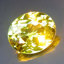 4.45 CT.Unseen Ultra Rare Quality!!! Natural Green Yellow CHRYSOBERYL IF