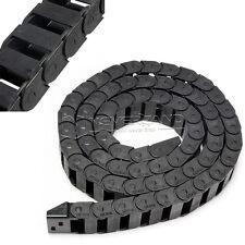 1M R28 Nylon Energiekette Schleppkette Kabelführung 10x20 mm für CNC 3D Drucker