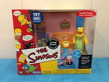 Simpsons Interactive Environment - Living Room with Marge and Maggie