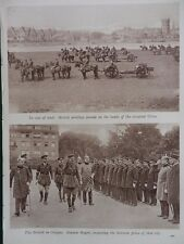 1919 BRITISH ARMY OF THE RHINE OCCUPATION COLOGNE GENERAL ROGERS WW1 WWI