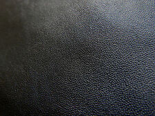 Black leather goat hide goatskin 5.2 sq. ft. for bookbinding & other crafts E9