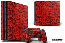 Skin Decal Wrap For PS4 PRO Playstation 4 Pro Console + Controller Stickers