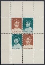 Suriname 1963 ** Bl.2 Kinder Children Girls Mädchen [sq4900]