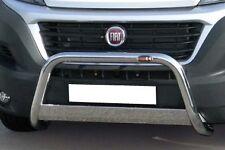 FIAT DUCATO BULL BAR MIRROR INOX 60 LUCIDO C/TRAVERSA C/OMOLOGAZIONE EUROPEA