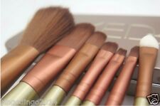 Naked Cosmetic Professional Makeup Power Brush Set - 7 Pieces with Box Case