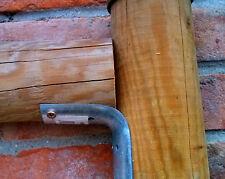 Angolare per pali impregnati da Ø60 a Ø120 giunto per fissaggio pali recinzione