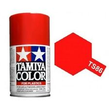 Tamiya TS-86 Brilliant Red Spray Paint Can 3 oz 100ml Mid America
