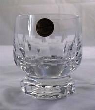 Villeroy & and Boch ARABELLE whisky tumbler glass 24% lead crystal NEW handmade