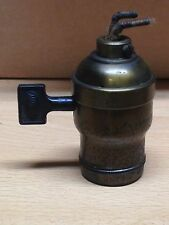 ANTIQUE VINTAGE ARROW FATBOY LIGHT FIXTURE LAMP SOCKET PART