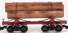 Bachmann G Scale Train (1:22.5) Log Cars Skeleton  Unlettered 98490