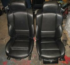BMW E46 Convertible M Sport Black Leather Heated Electric Memory front seats.