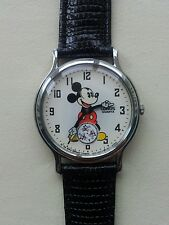 Rare & Old Seiko Lorus Mickey Mouse Animated 60th Anniversary 1986 Watch + box