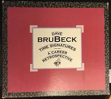 Dave Brubeck Time Signatures: Career Retrospective Box Set ASIN:B00004S51G