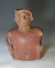 A Large Nayarit  seated Figure circa Ca. 200 BC. to 200 AD West Mexico