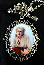 Bette Davis Baby Jane Movie Large Pendant Necklace 60s Crawford Horror Camp dvd