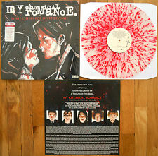 My Chemical Romance Three Cheers For Sweet Revenge  Vinyl LP Clear/Red Splatter