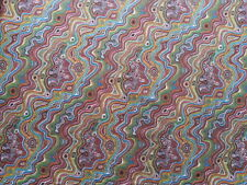 MUGUNGALYT STRIPE MULTI ABORIGINAL ART COTTON PRINT DRESSMAKING CRAFT FABRIC