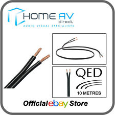 QED 42 Strand 10 Metres OFC Speaker Cable High Quality Copper- Black | C-42/10M