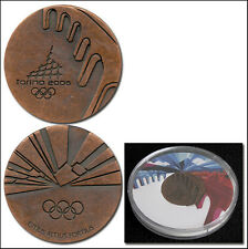 Olympic Games Olympische Spiele 2006 Participation medal Teilnehemer Medaille