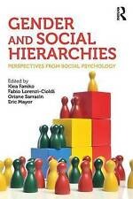 Gender and Social Hierarchies: Perspectives from Social Psychology by Taylor...