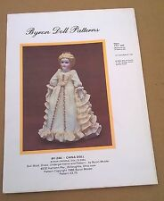 "1986 By-246 China Doll Byron Pattern Dress Undergarments Camisole 17 1/2"" UNCUT"