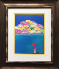 "Peter Max ""IOAE Sage 95'"" Newly CUSTOM FRAMED Print Art POP psychedelic Neo Deco"