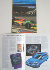 Ford in Formula One 1967-1987 Benetton Cosworth Grand Prix Cars Drivers Teams +