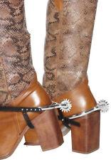 Cowboy Stiefel Sporen NEU - Zubehör Accessoire Karneval Fasching