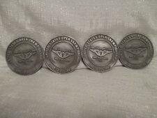 1987 US Open 87th Championship Olympic Golf Club Set of 4 Coasters Scott Simpson