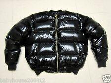Shiny Glanznylon wetlook Down jacke expedition jacket hood downcoat custom-made