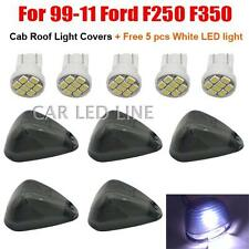 5pcs LED Smoked Cab Roof  Lights Kits 1999-2014 FORD F250 F350 Pick Up Truck