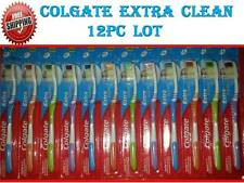COLGATE EXTRA CLEAN Toothbrush 12pcs LOT Tooth Brush Superior Clean Gentle Feel