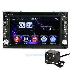 GPS Navigation 2Din HD Car Stereo DVD CD Player With Rearview camera