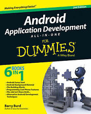 Android Application Development All-in-One For Dummies, Burd, Barry, New Conditi